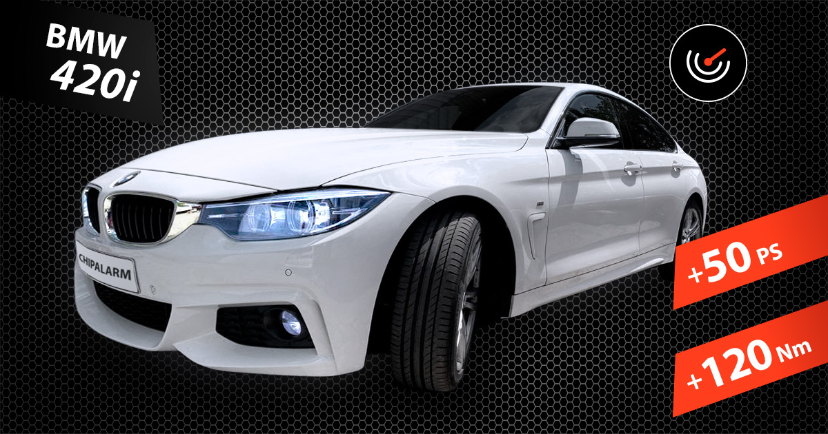 BMW 420i - Chiptuning by CHIPALARM