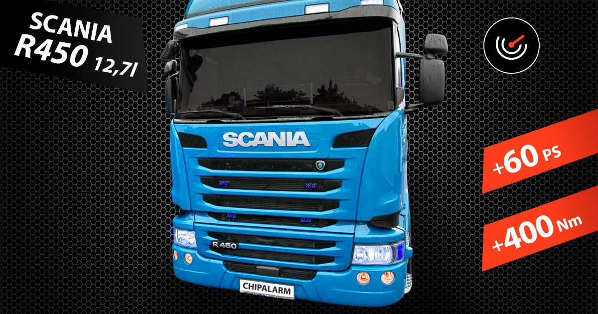 SCANIA R450 - Chiptuning by CHIPALARM