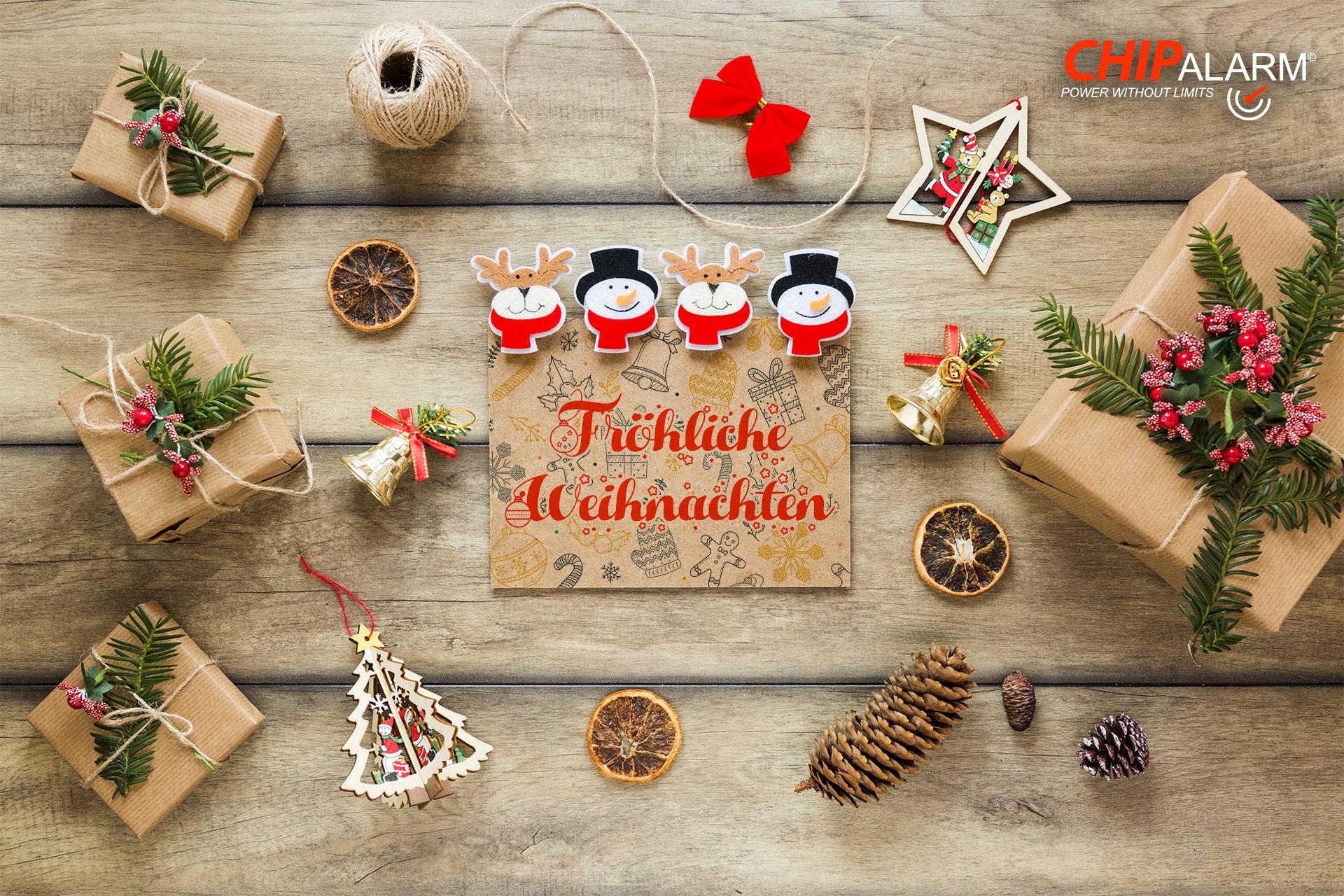 Fröhliche Weihnachten von Chipalarm