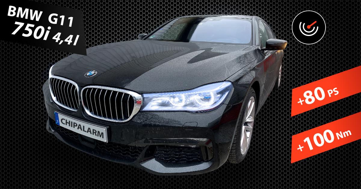 7er BMW 750i G11, 4,4 Liter
